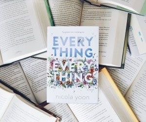 book, everything everything, and nicola yoon image