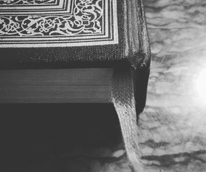 art, black and white, and books image