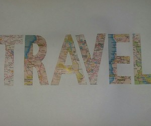 map, mapa, and travel image