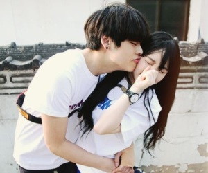 couple, ulzzang, and korean image