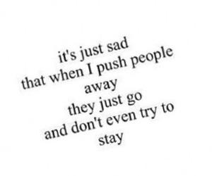 sad, people, and stay image