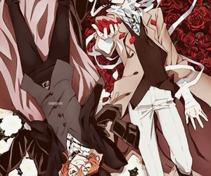 anime, bungou stray dogs, and osamu dazai image