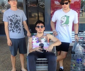 joji, filthy frank, and maxmoefoe image