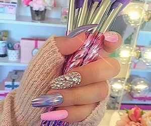 Brushes, nails, and style image