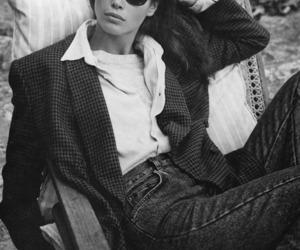Christy Turlington and model image