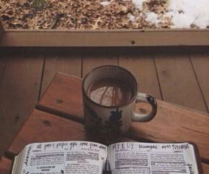 books, boys, and coffee image