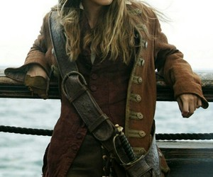 aesthetic, jack sparrow, and keira knightly image