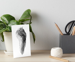 angel wing, art, and wing image