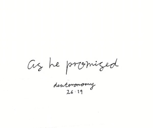 god, jesus, and promise image