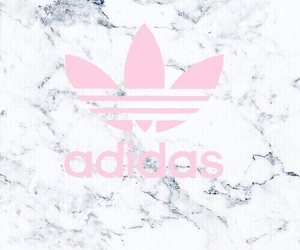 adidas, white, and pink image