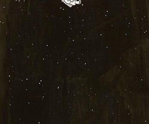 wallpaper, stars, and space image