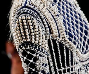 fashion, pearls, and Balmain image