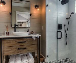 bathroom, farmhouse, and bathroom designs image