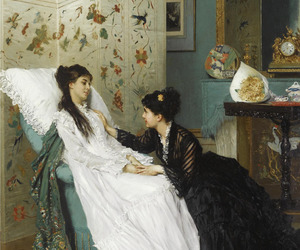 art, victorian, and old image
