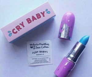 cry baby, lipstick, and melanie martinez image