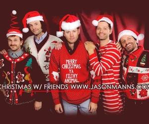 supernatural, Jensen Ackles, and christmas image