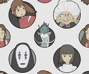 patterns and studio ghibli image