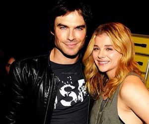 ian somerhalder, couple, and manips image