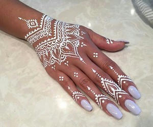 art, henna, and nails image