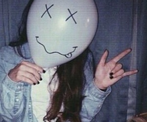 grunge, tumblr, and balloons image