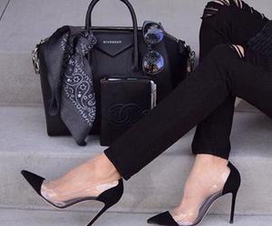 bag, Givenchy, and heels image