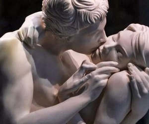 art, kiss, and michelangelo image