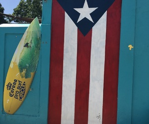blue, surfer, and boricua image