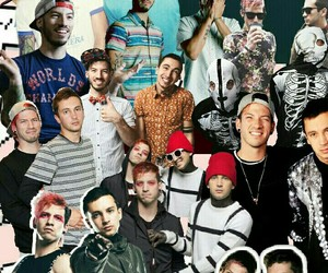 Collage, wallpaper, and twenty one pilots image