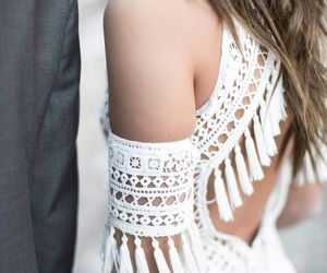 details, dress, and hippie image