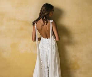 details, dress, and hair image
