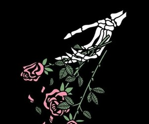 rose, alternative, and art image