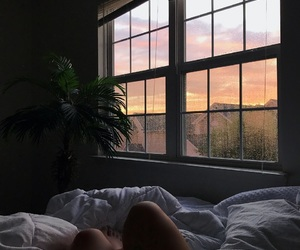 aesthetic, bed, and photography image