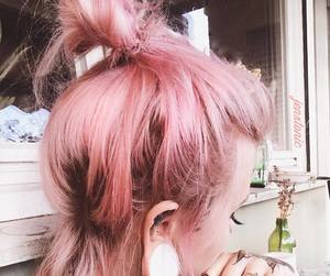 cabelo, cores, and pink image
