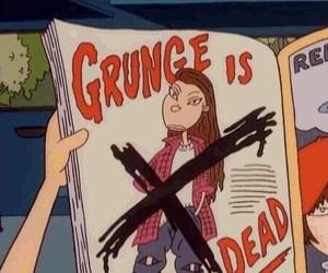 grunge, cartoon, and 90s image