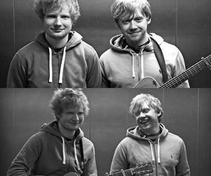 ed sheeran and rupert grint image