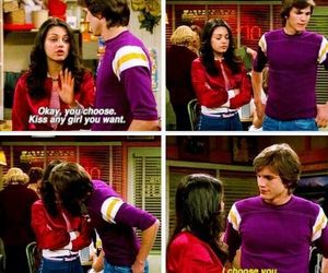 love, couple, and that 70s show image