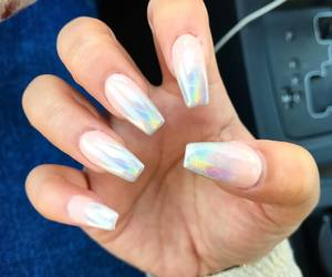 summer, unicorn, and coffin nails image