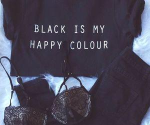 black, happyday, and closet image