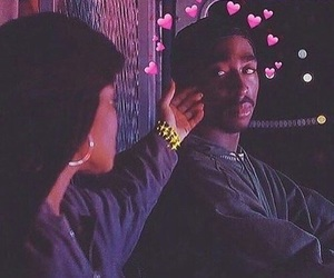 tupac, poetic justice, and love image