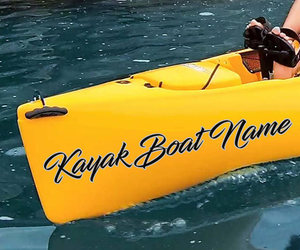 etsy, boat name decal, and boat name decals image