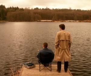 dean winchester, castiel, and Jensen Ackles image