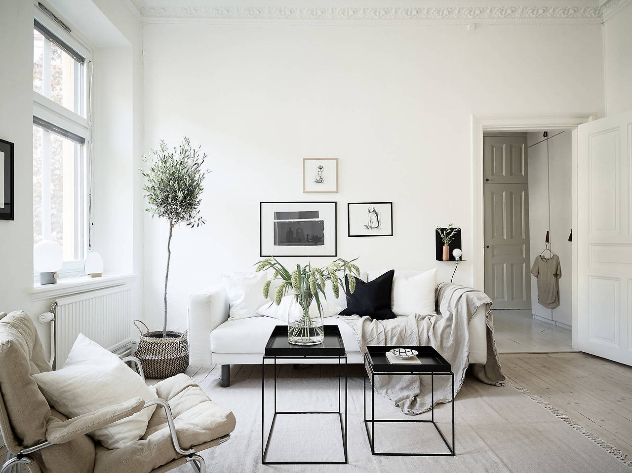 apartment, bedroom, and clean image