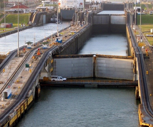 travel, travels in panama, and panama canal tour image