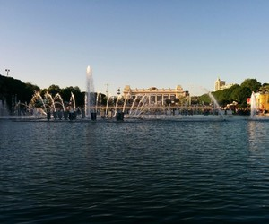 moscow russia gorky park image