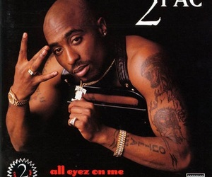 2pac, album, and hiphop image