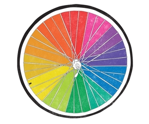 bikes, color wheel, and illustration image