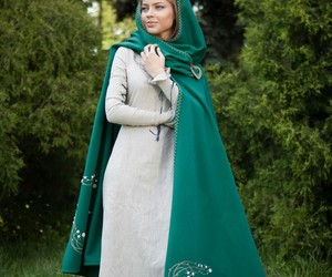 green, clothing, and fairytale image