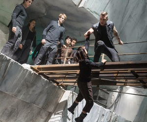 divergent, eric, and christina image