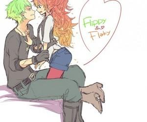 flaky, happy tree friends, and flippy image