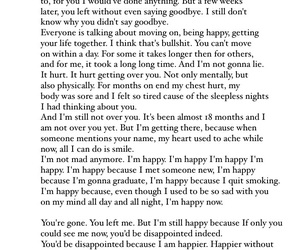 disappointed, happier, and move on image